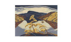 housser-eveningnipigonriver-1943-noframe